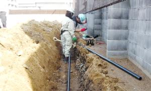 経験豊かなスタッフが植栽や地形、水の量など長年の経験と知識で対応、最適な自動灌水システム・自動潅水設備・自動散水設備を施工いたします。